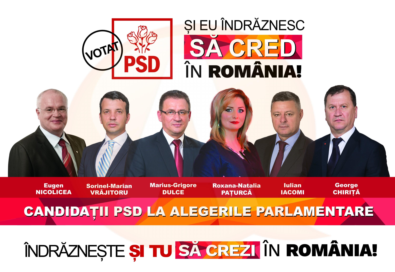 """După alegerile parlamentare, județul Călărași redevine """"roșu"""""""