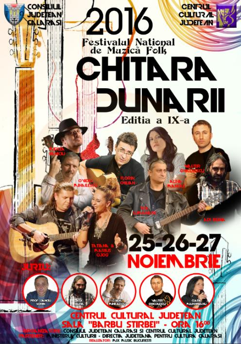 """În weekend, sunteți așteptați la Festivalul de Muzică Folk ,,CHITARA DUNĂRII"""""""