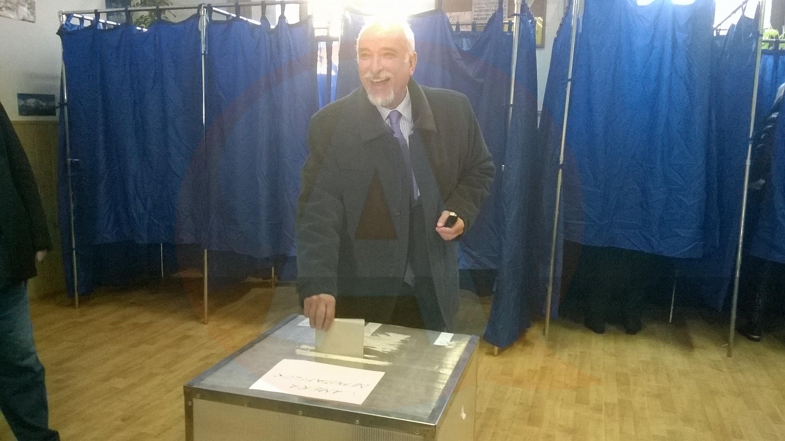 Ziua votului: Declaratie senator Filipescu