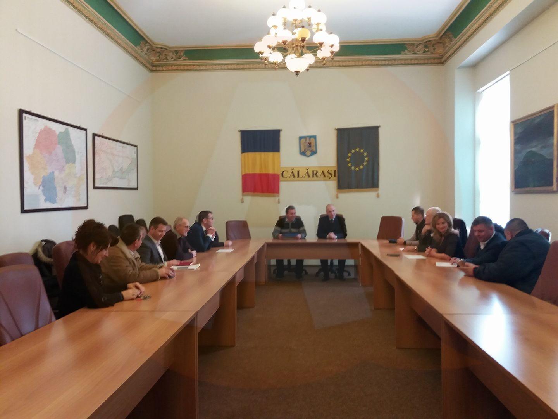 BEJC a ales tăcerea, pentru a înmâna mandatele parlamentarilor călărășeni