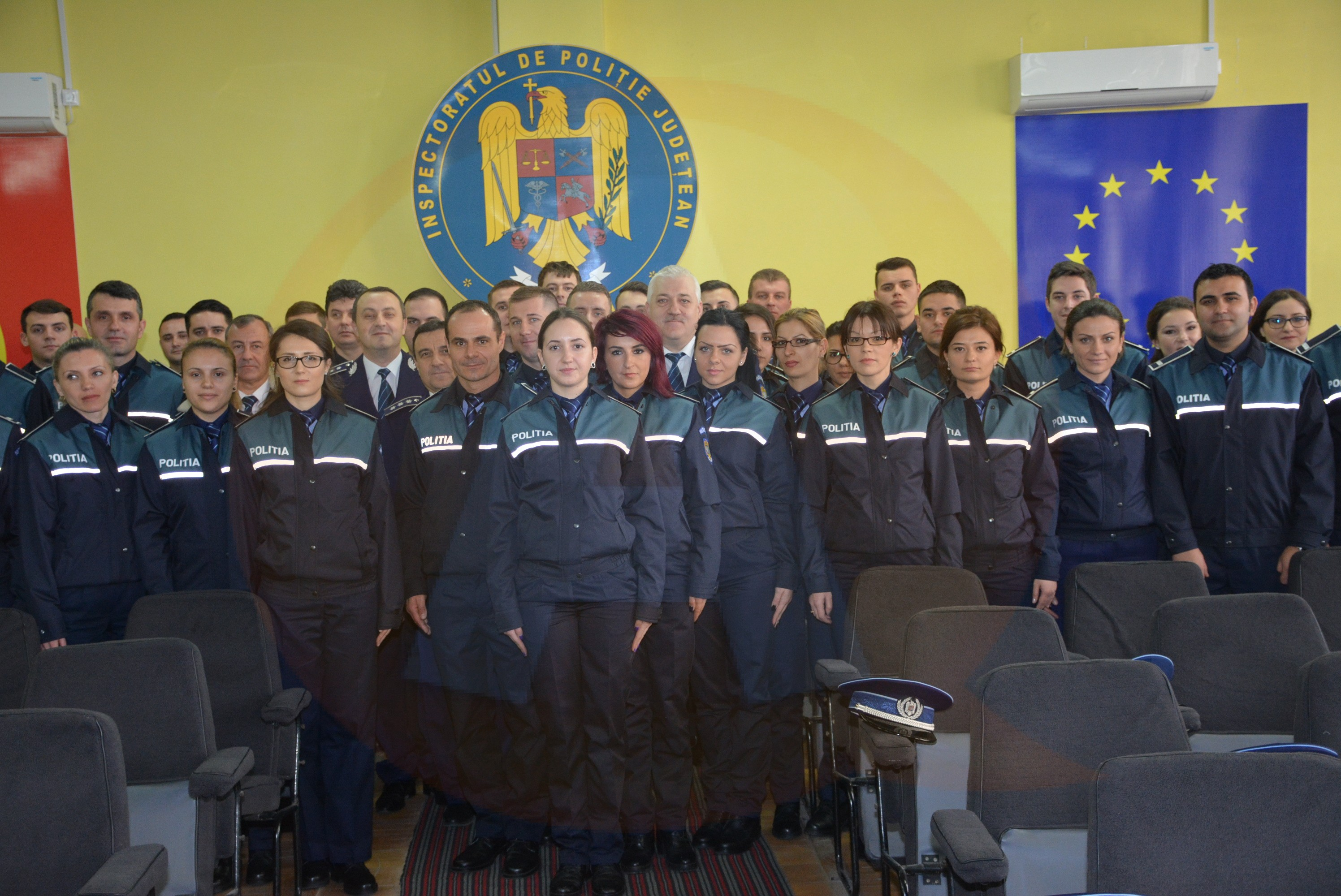 Jurământul de credință a fost despus de 54 de agenți de poliție