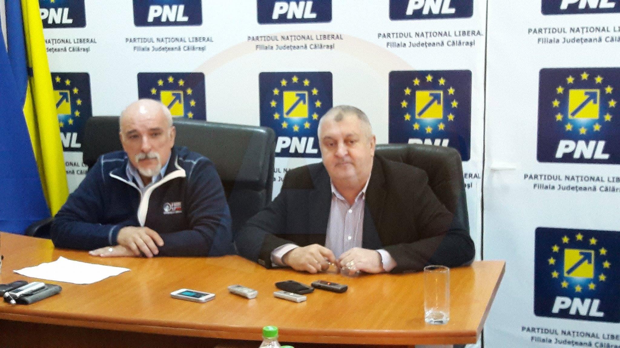 Senatorul Filipescu și primarul Drăgulin, în echipa de conducere a președintelui PNL, L. Orban