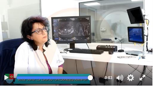Veste bună pentru călărășeni: RMN-ul funcționează