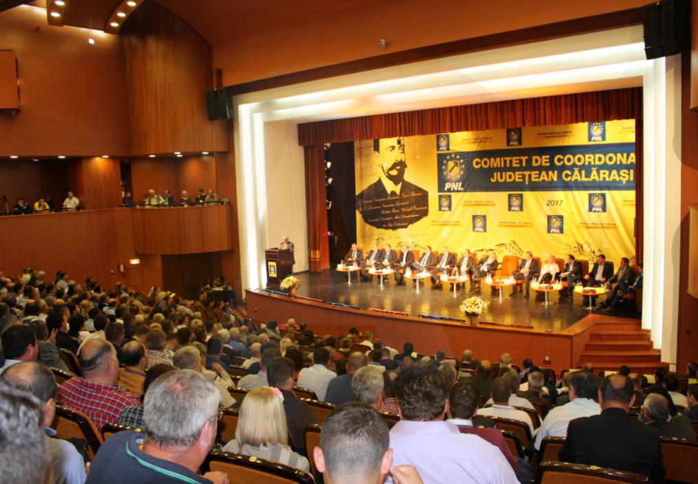 Alegeri PNL Călărași/ Numărul de voturi primite și echipa cu care pleacă la drum președintele Daniel Ștefan Drăgulin