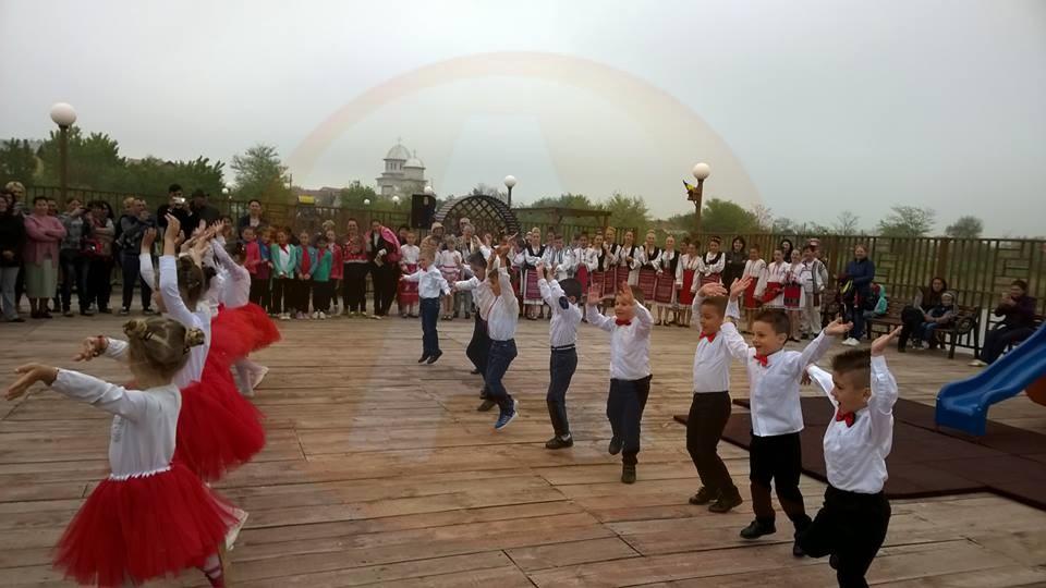 Activități educativ-recreative în Parcul Tematic din comuna Jegălia