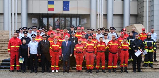 Etapa zonală/ Pompierii militari, din Călăraşi, au obţinut locul I