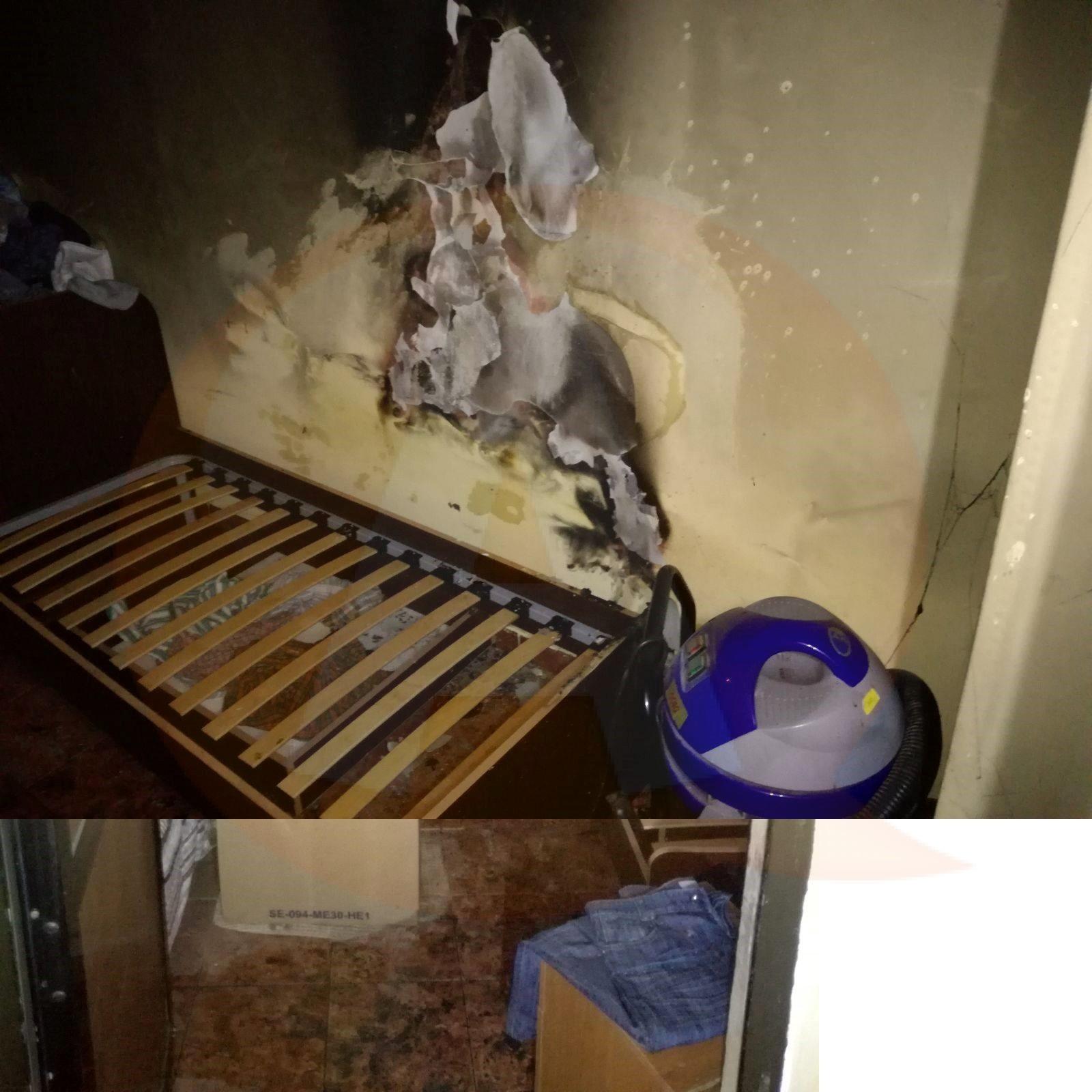 La Căminul de bătrâni, din Ciocăneşti, a izbucnit un incendiu