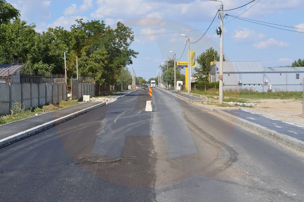 COMUNICAT DE PRESĂ Privind demararea lucrărilor de asfaltare a Șoselei de Rocadă