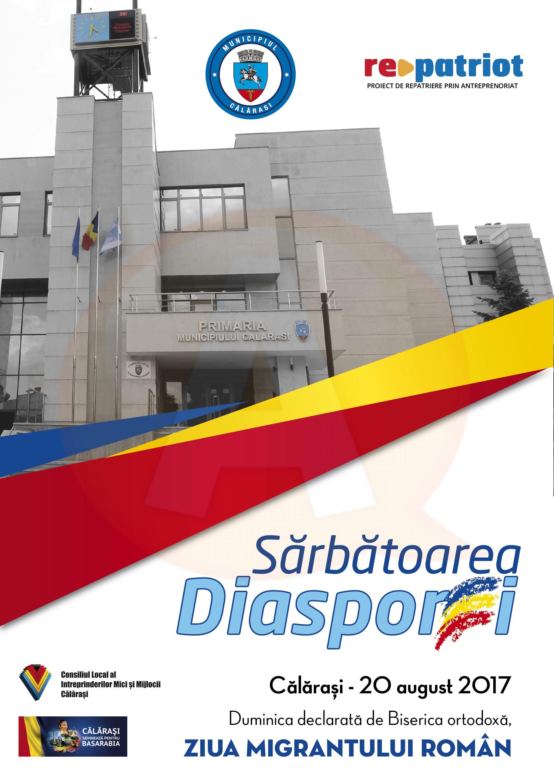 Sărbătoarea Diasporei/ Ziua Migrantului Român, la Călărași