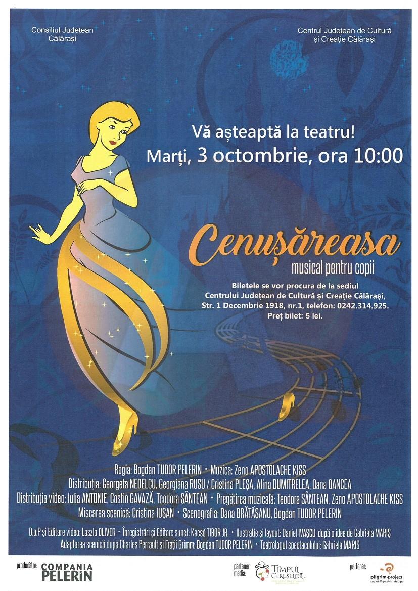 """Musical pentru copii – """"Cenușăreasa"""""""