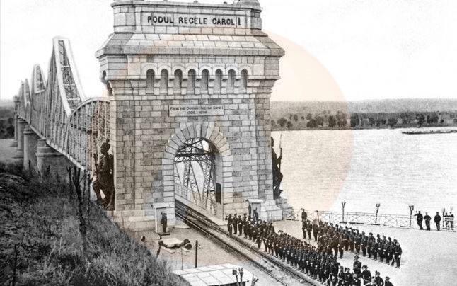 File de istorie/ 122 de  ani de la inaugurarea podului de la Cernavodă