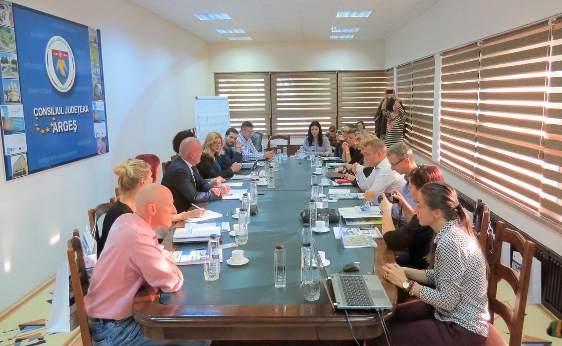 Întâlnire transnațională organizată de ADR Sud Muntenia