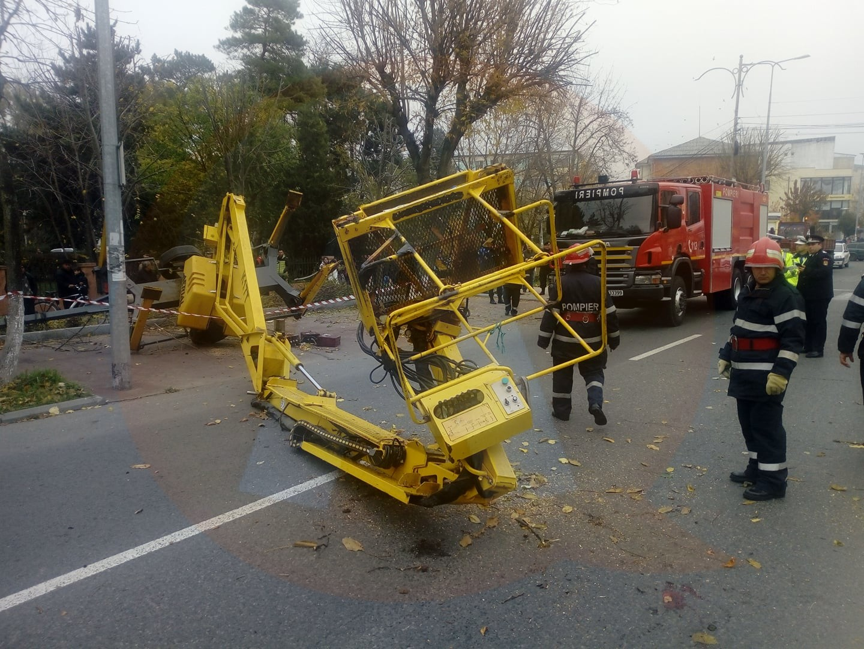 IPJ Călărași/ Accident de muncă, investigat de polițiști