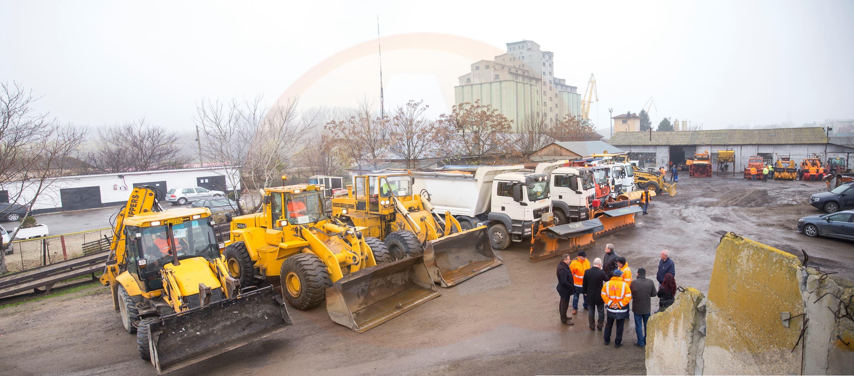 A fost verificat modul în care va fi asigurată deszăpezirea, în județul Călărași