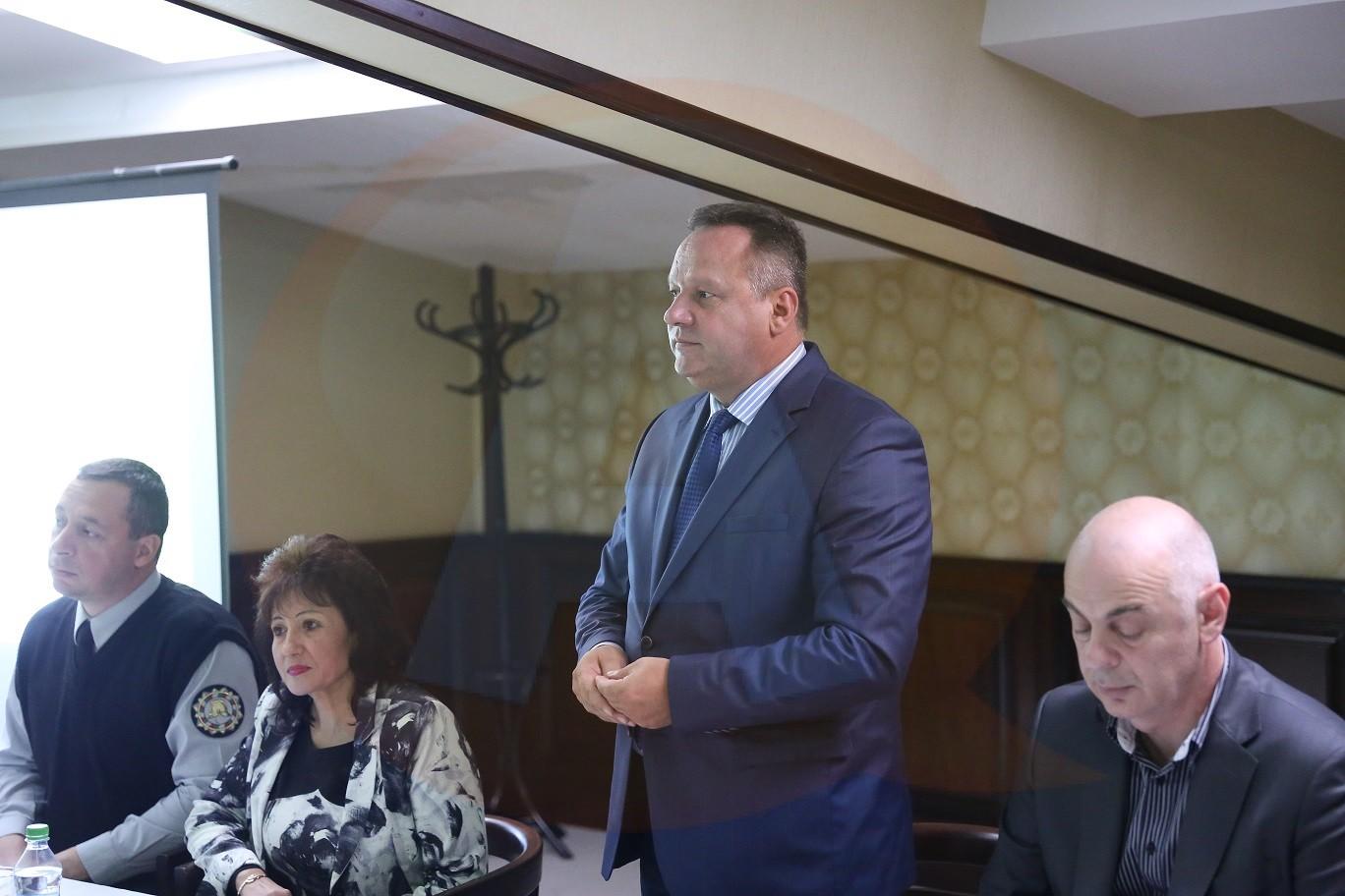"""Întâlnire comună în cadrul proiectului """"Managementul de Risc și Protecția la Inundații în Regiunile Transfrontaliere Călărași – Polski Trambesh"""""""