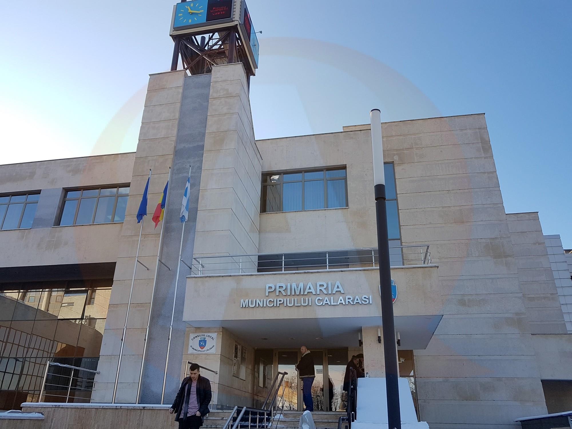 Primaria Calarasi/ANUNT DE LICITAŢIE