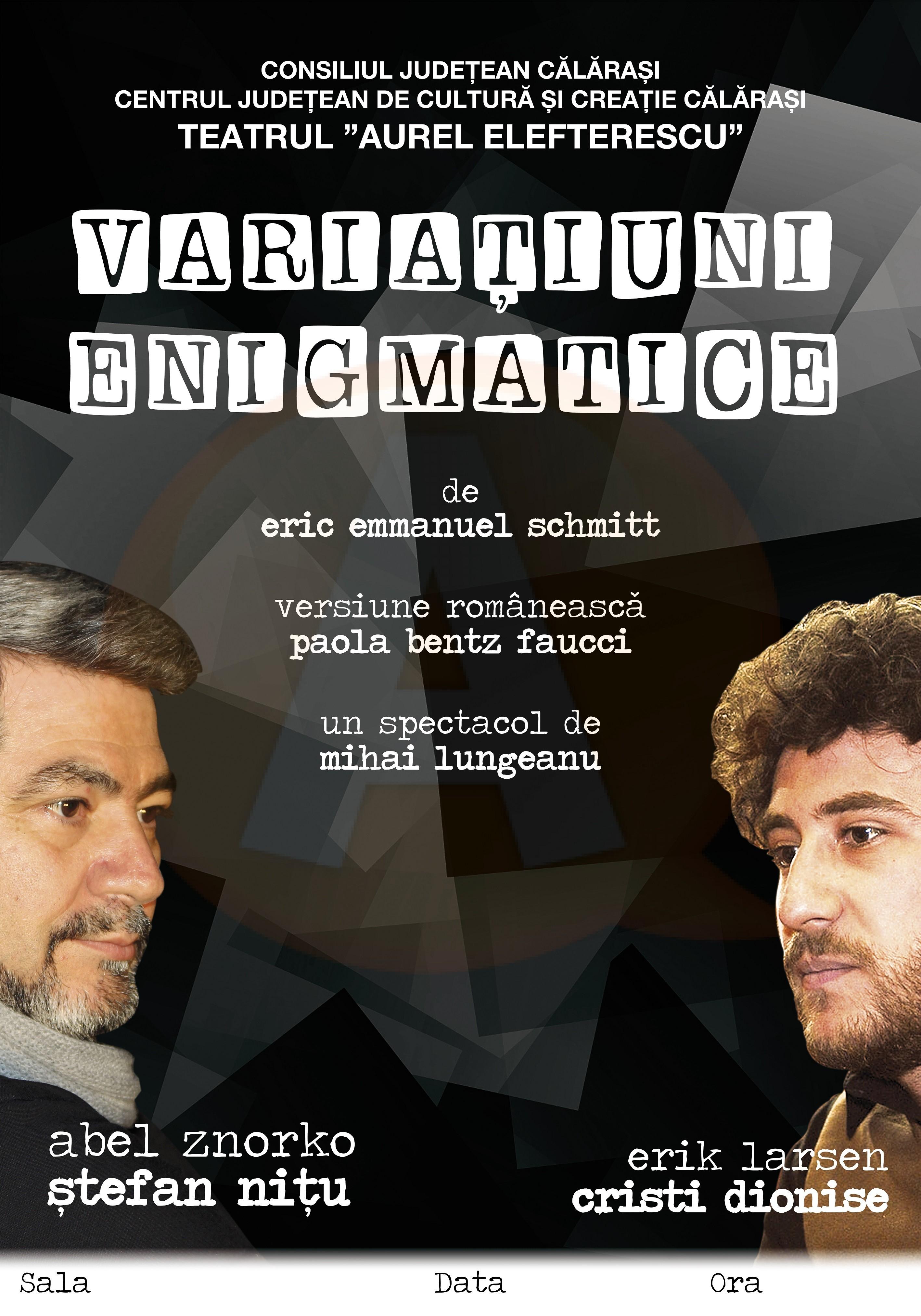 """Trupa de teatru """"Aurel Elefterescu"""" Călărași marchează Ziua Mondială a Teatrului"""