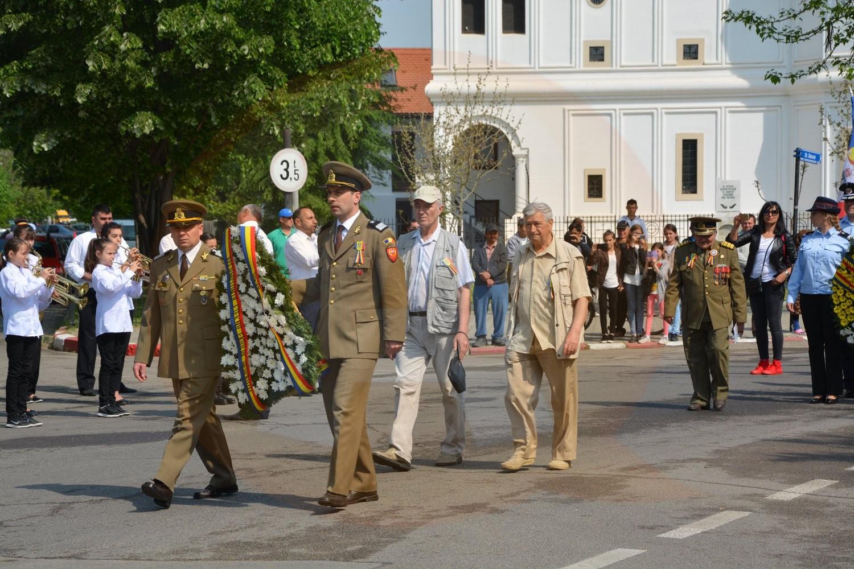 Vineri, 27 aprilie, a fost marcată, la Călărași, Ziua Veteranilor de Război