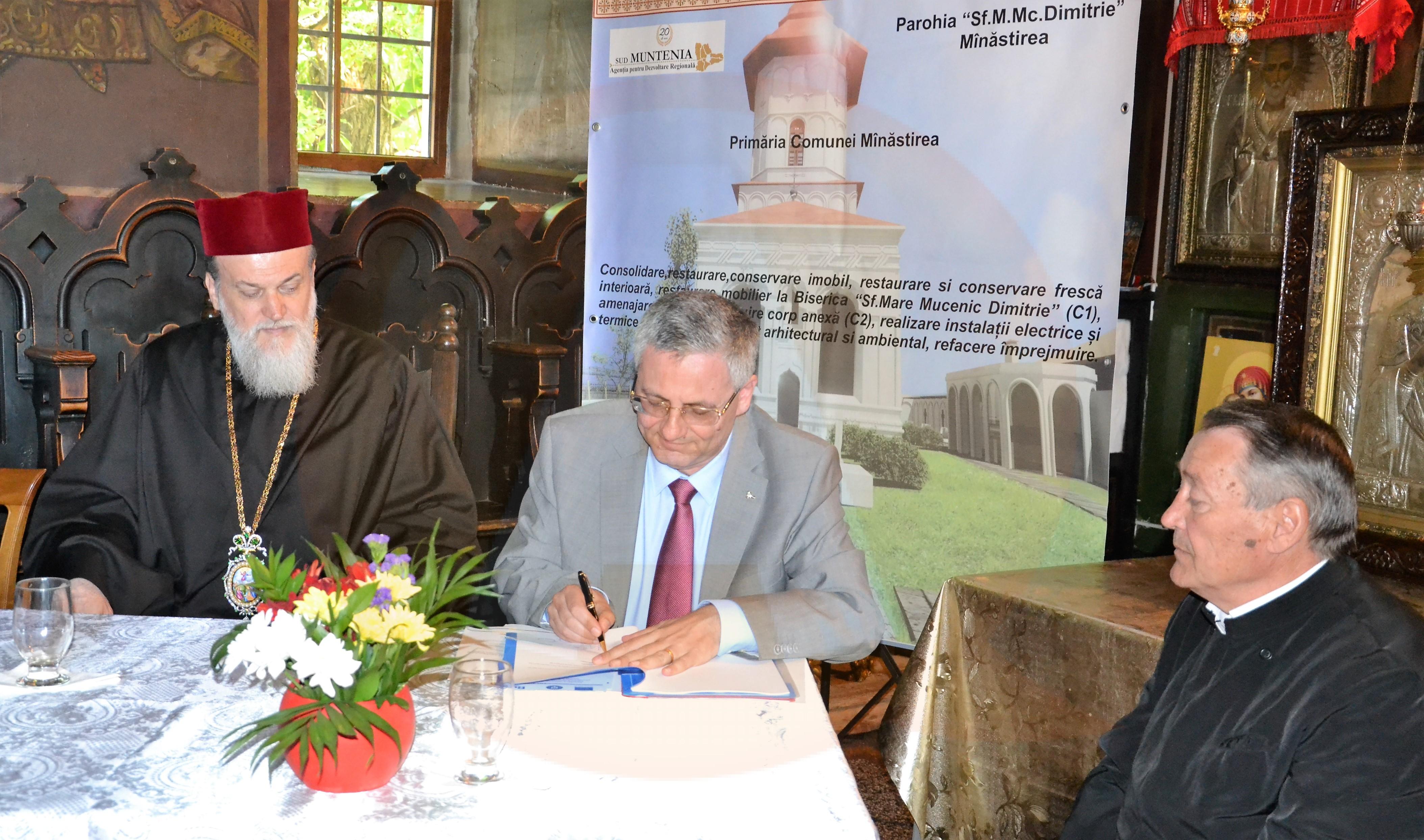 """Peste 20 milioane de lei fonduri nerambursabile  pentru restaurarea Bisericii """"Sfântul Mare Mucenic Dimitrie"""", prin POR"""