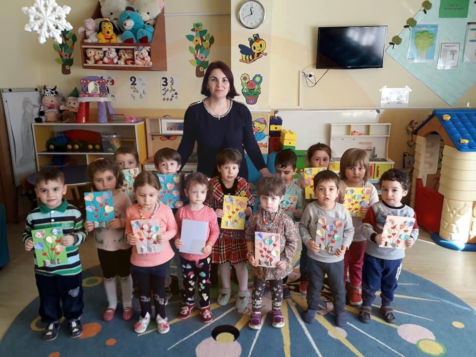 """Grădiniţa """" Amicii"""", din Călăraşi,  parteneră în Campania Globală pentru Educaţie"""