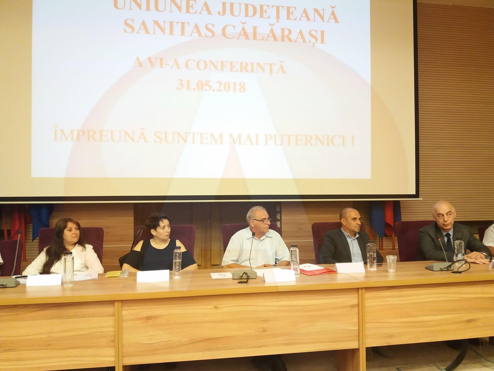 A fost aleasă o nouă conducere a Uniunii Judeţene Sanitas Călăraşi
