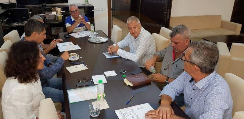Executivul Primăriei Călărași s-a întâlnit cu reprezentanții societății de salubrizare Rebu SA