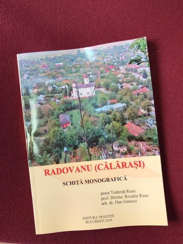 Eveniment cultural reușit, în comuna Radovanu: lansarea monografiei localității
