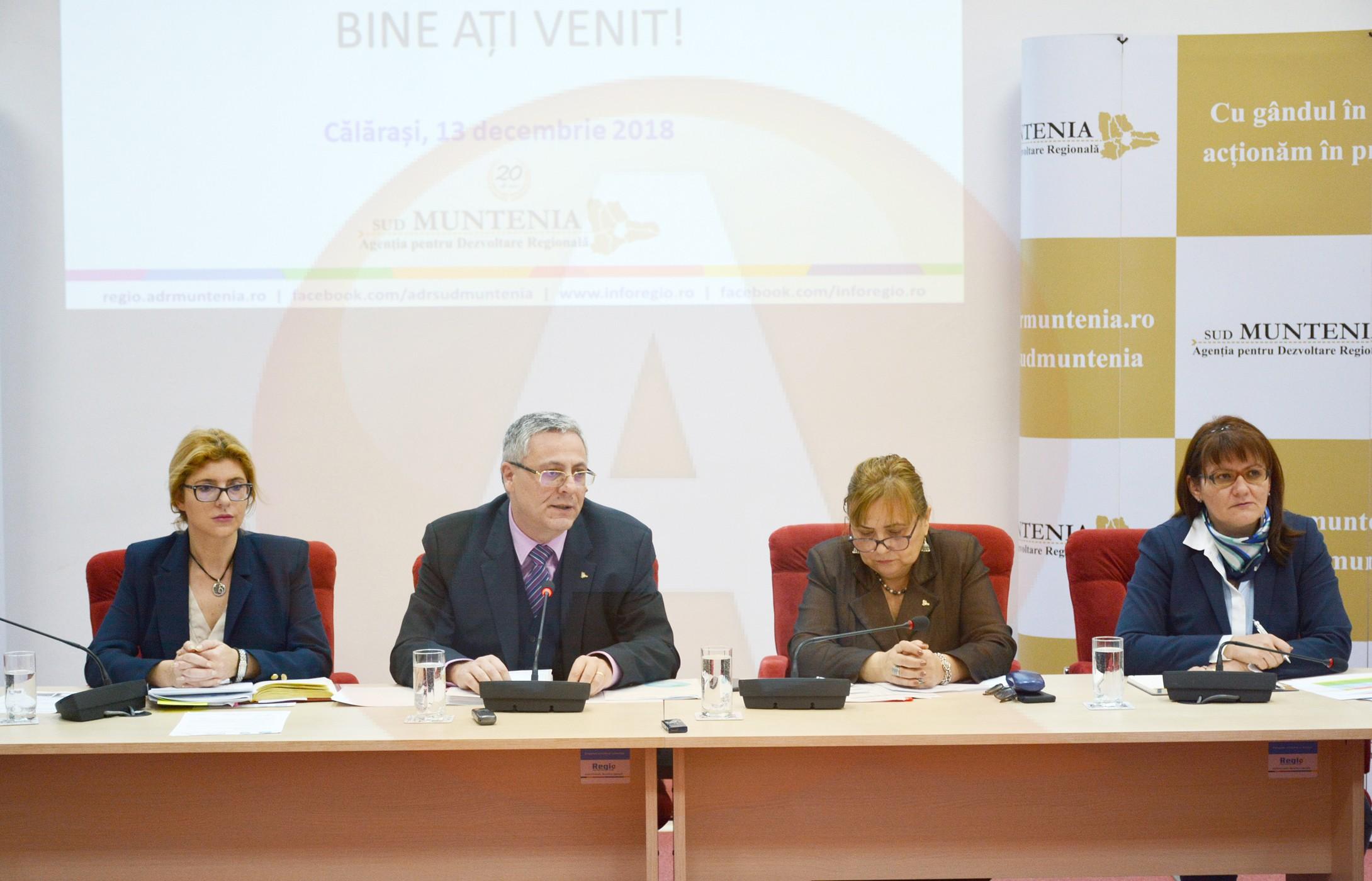 Peste 1000 de proiecte cu finanţare europeană depuse la nivelul Regiunii Sud Muntenia