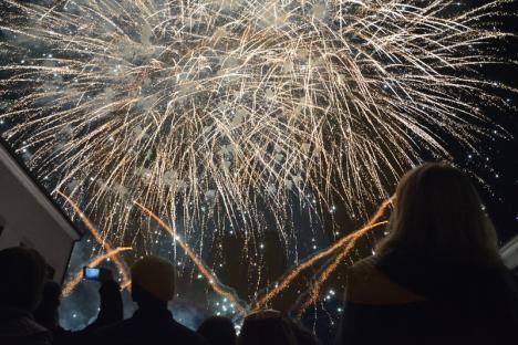 Revelion 2019, în aer liber, la Călărași