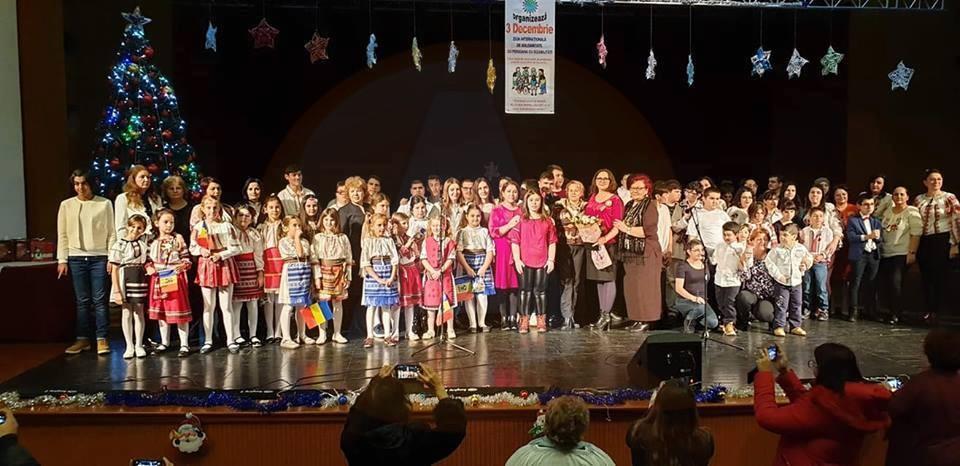 """"""" Solidaritate, bucurie în suflet"""", o manifestare deosebită organizată de Școala Gimnazială Specială nr.1 Călărași"""