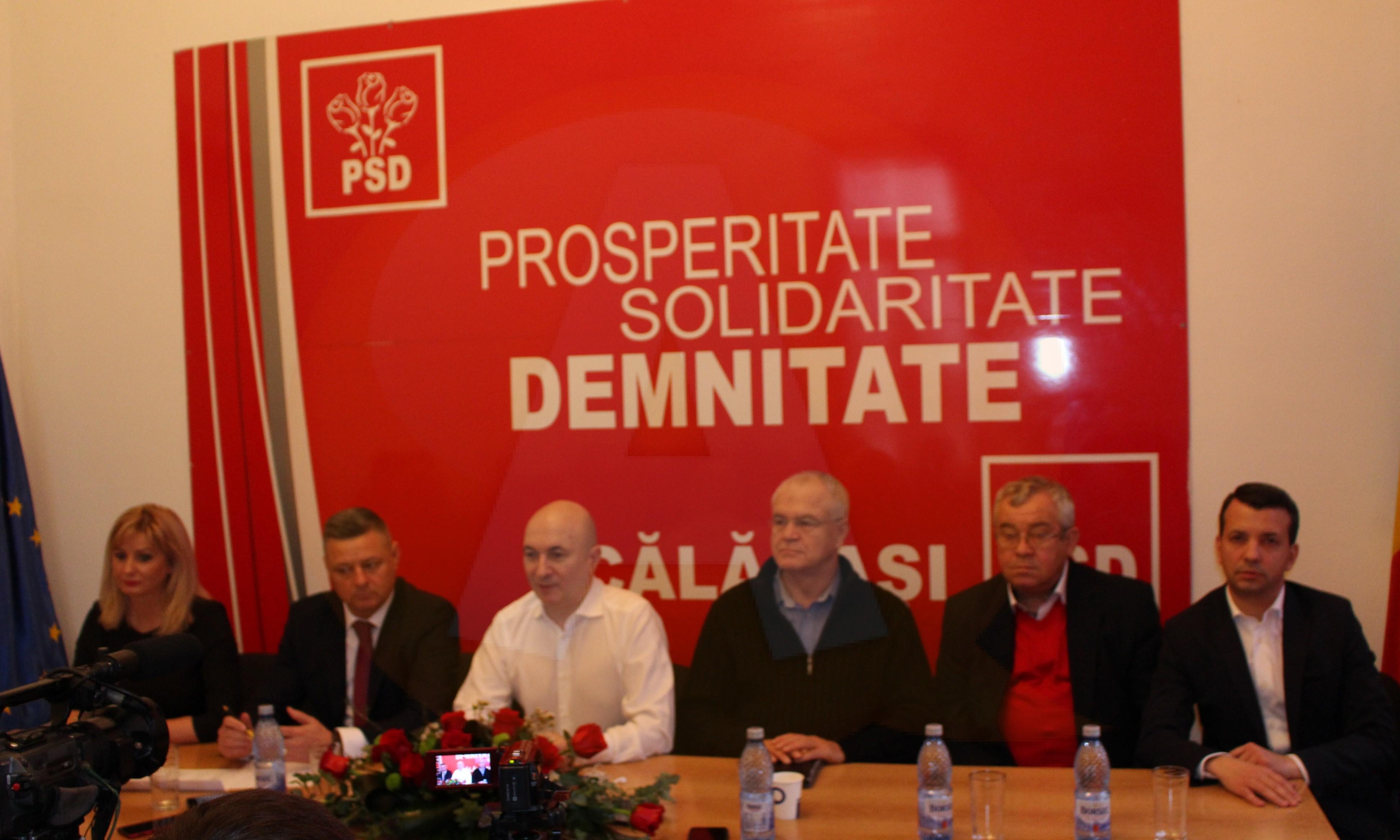 PSD Călărași și-a desemnat noii membri, în Biroul Permanent Județean