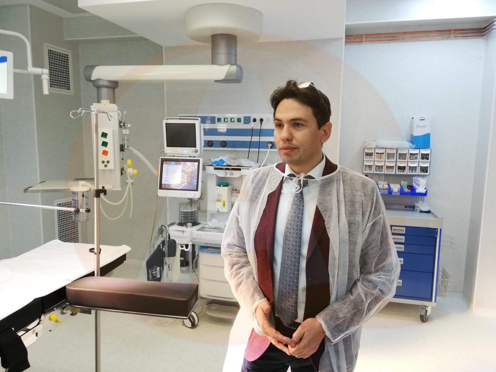 Spitalul Judeţean de Urgenţă Călăraşi are un nou bloc operator