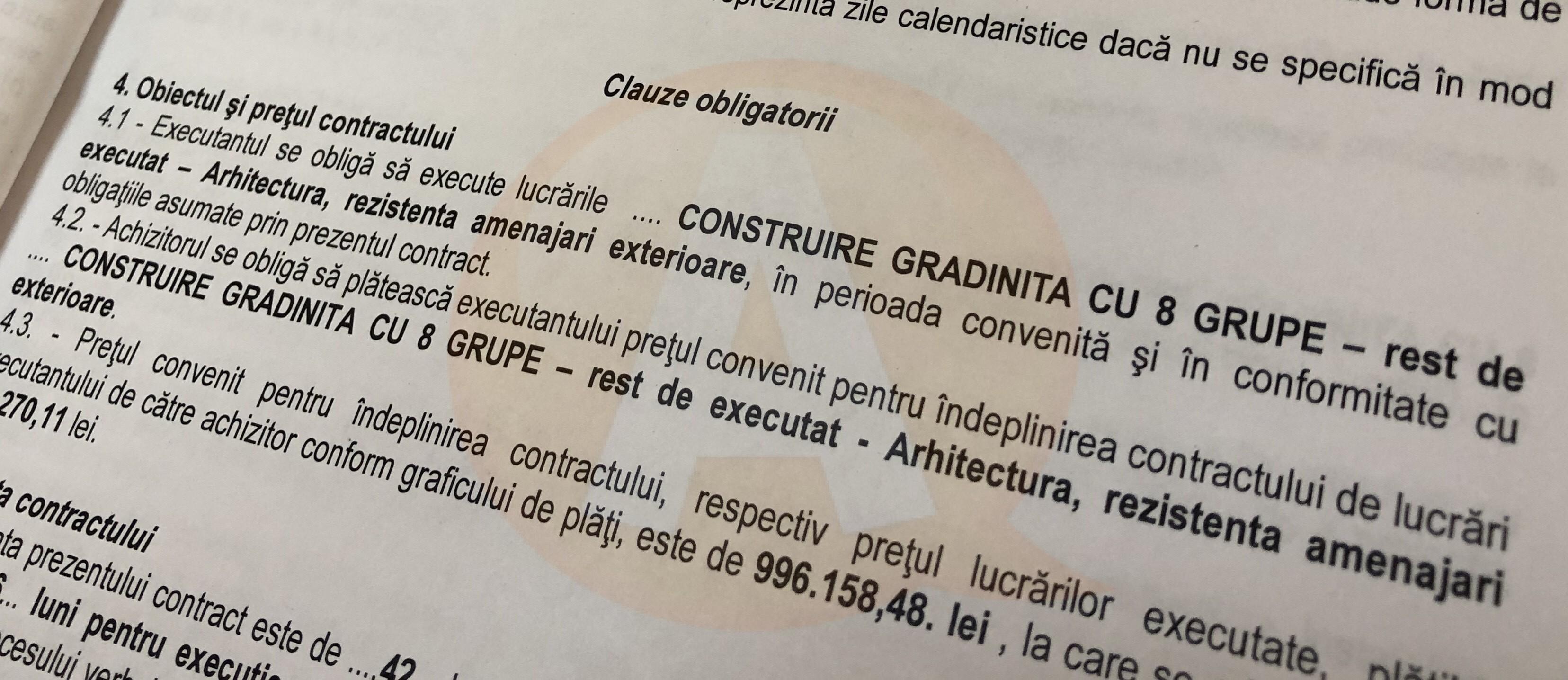 Primăria Călărași va construi o grădiniţă cu 8 grupe de preșcolari