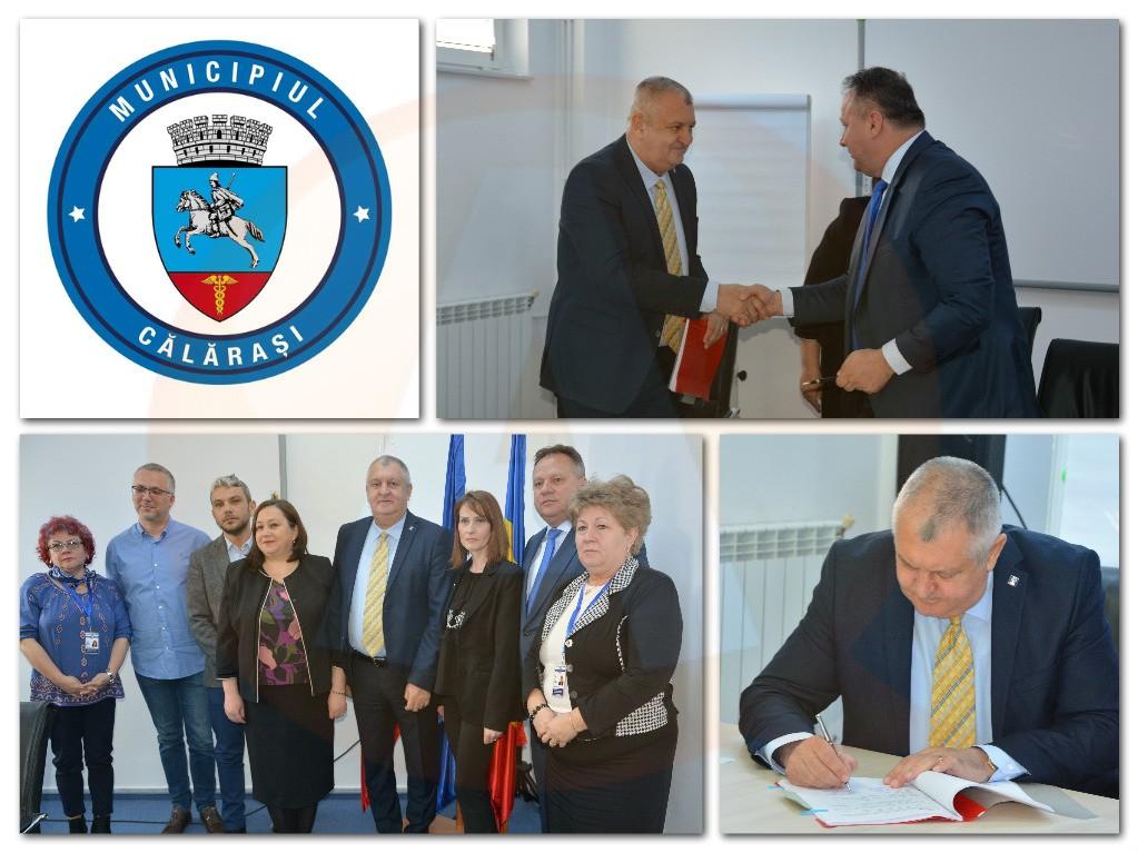Vineri, 29 martie a fost semnat contractul de finantare BRCT