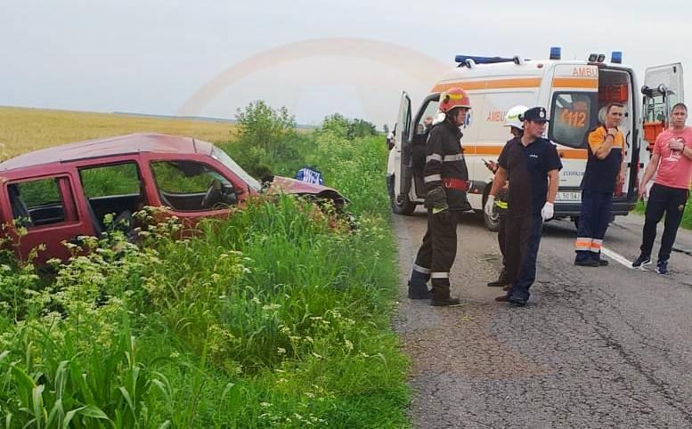 Accident rutier grav, pe DJ 306, cu patru victime, dintre care una decedată