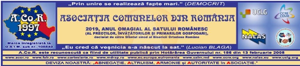 Asociația Comunelor din România susține urgentării adoptării Codului administrativ