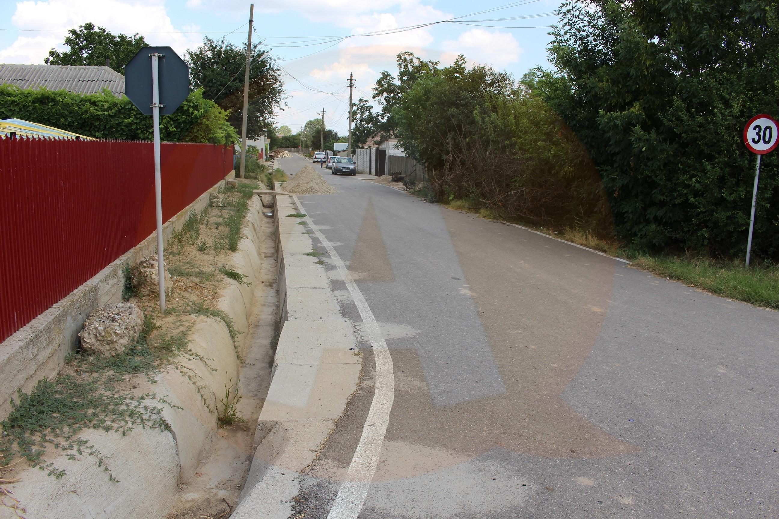 47 de străzi au fost recepționate, în comuna Borcea