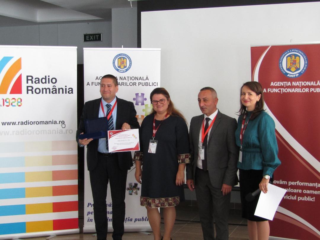 Primăria Municipiului Călărași a fost premiată la Conferința internațională Inovație și calitate