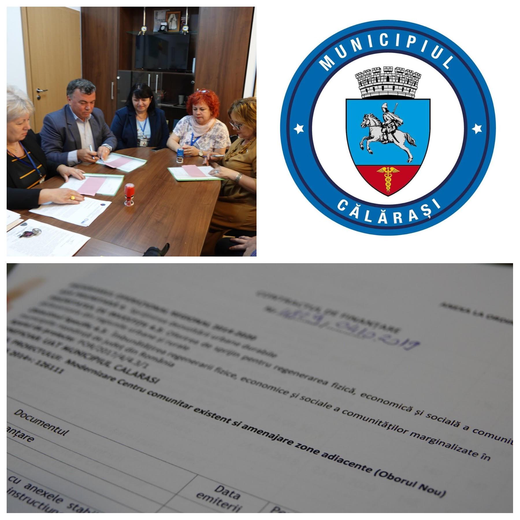 COMUNICAT DE PRESĂ   Privind semnarea primului contract de finanțare pe Axa 4 a Regio 2014-2020