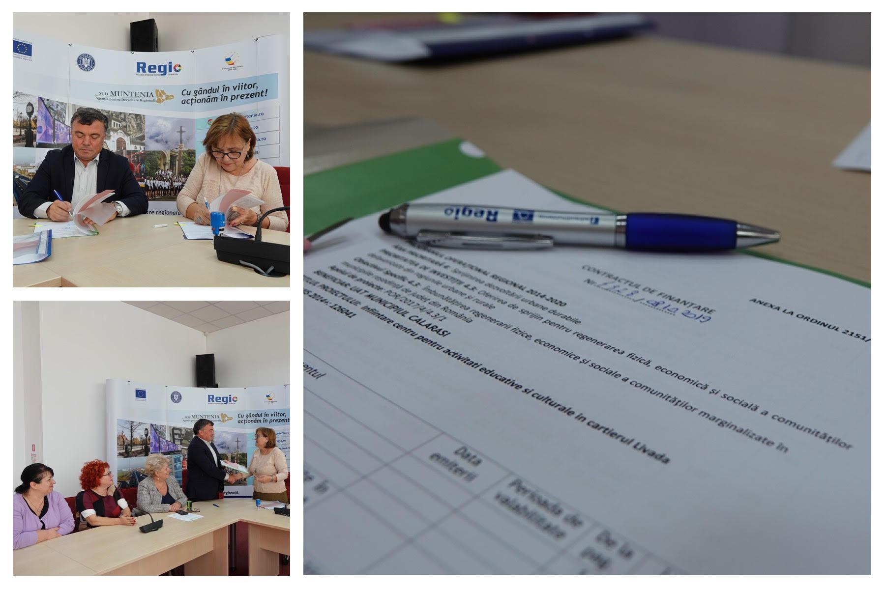 Comunicat de presă semnare contract cartier Livada