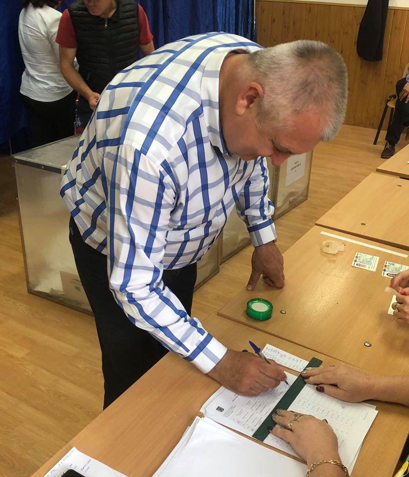 Primarul mun. Calarasi, D. Dragulin : Am votat pentru un presedinte puternic