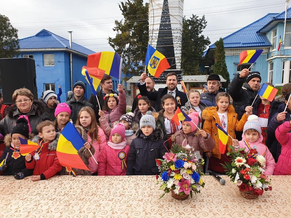 Ziua de 1 decembrie marcată, ca în fiecare an, de Primăria comunei Borcea
