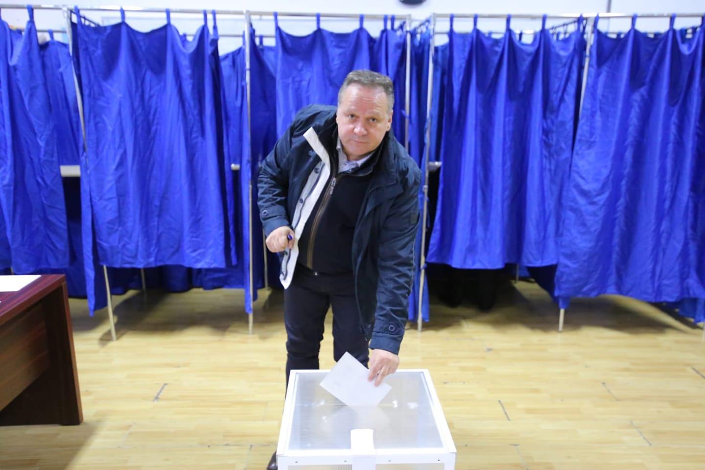 """Președintele Consiliului Județean Călărași, Vasile Iliuță: ,,M-am prezentat la vot cu gândul continuității proiectului #RomâniaNormală"""""""