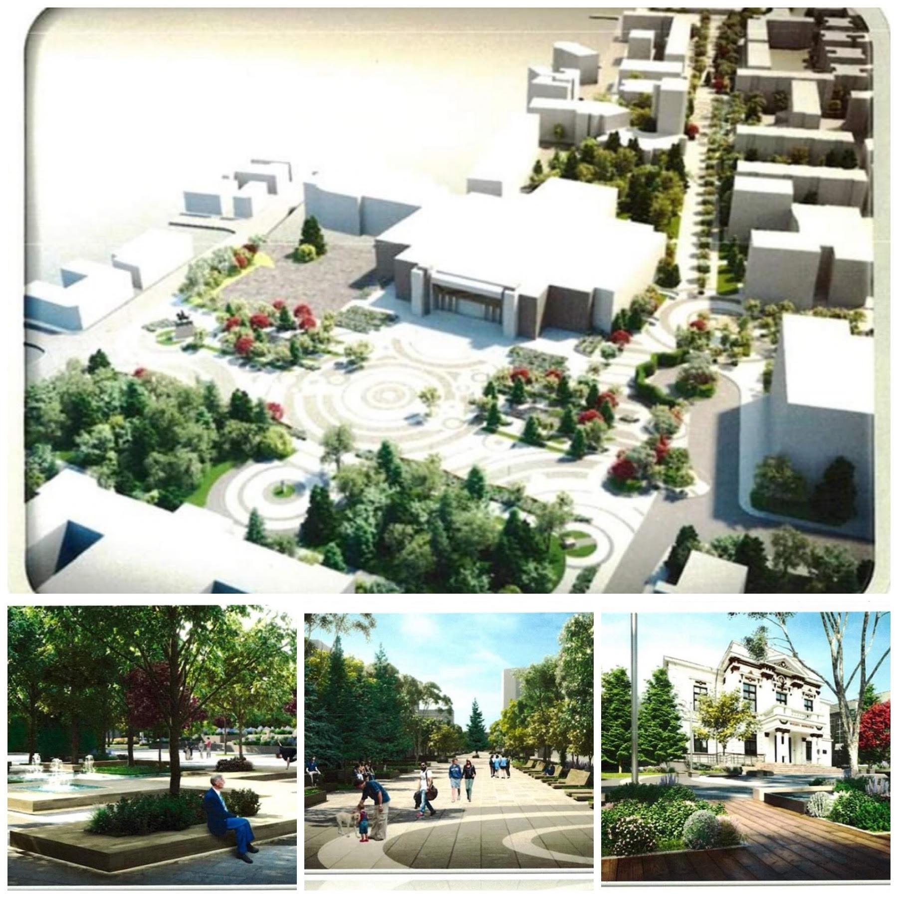 A fost semnat proiectul de modernizare a centrului vechi pietonal, din municipiul Călărași