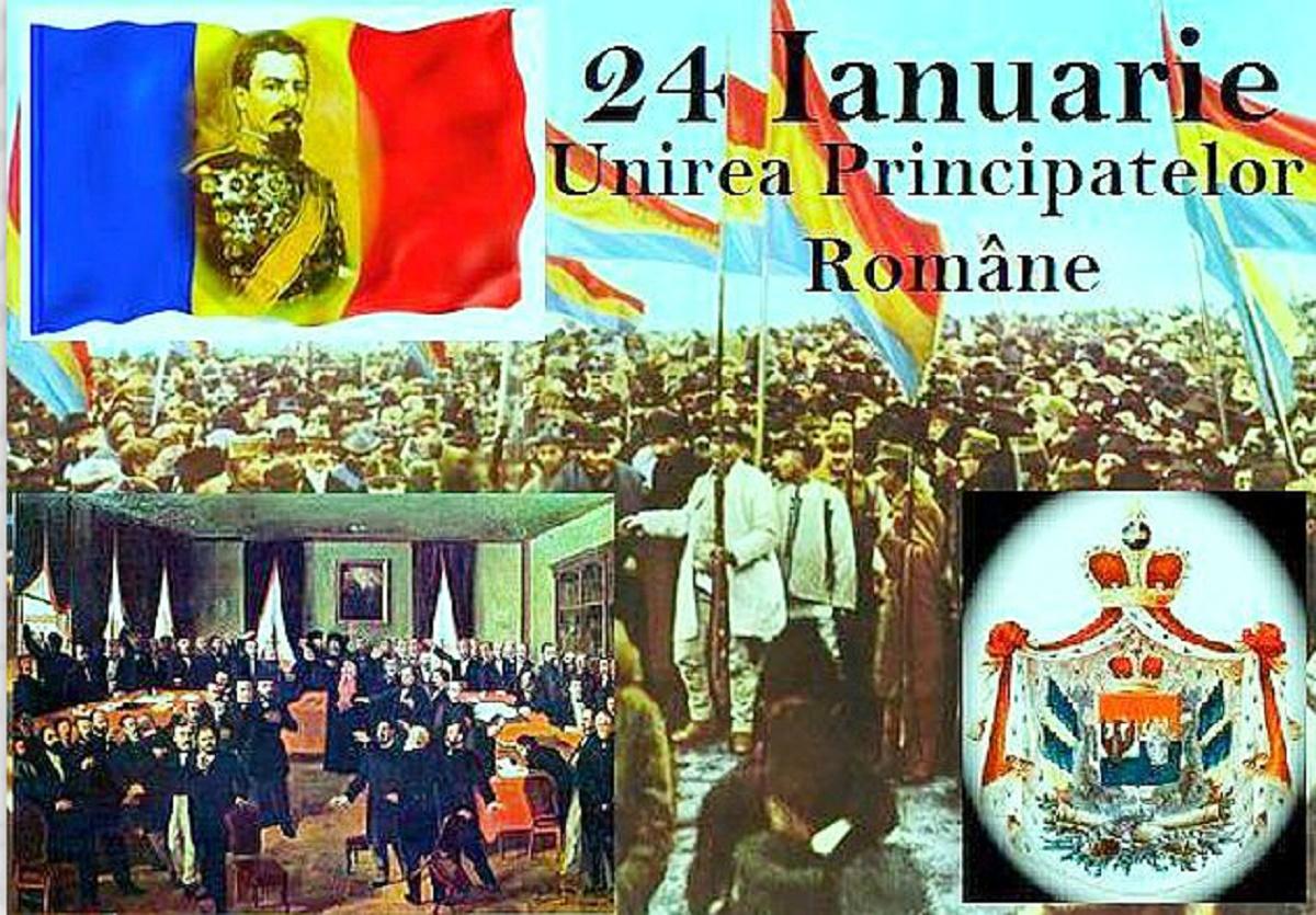 Vineri, 24 Ianuarie se împlinesc 161 de ani de la Unirea Principatelor Române