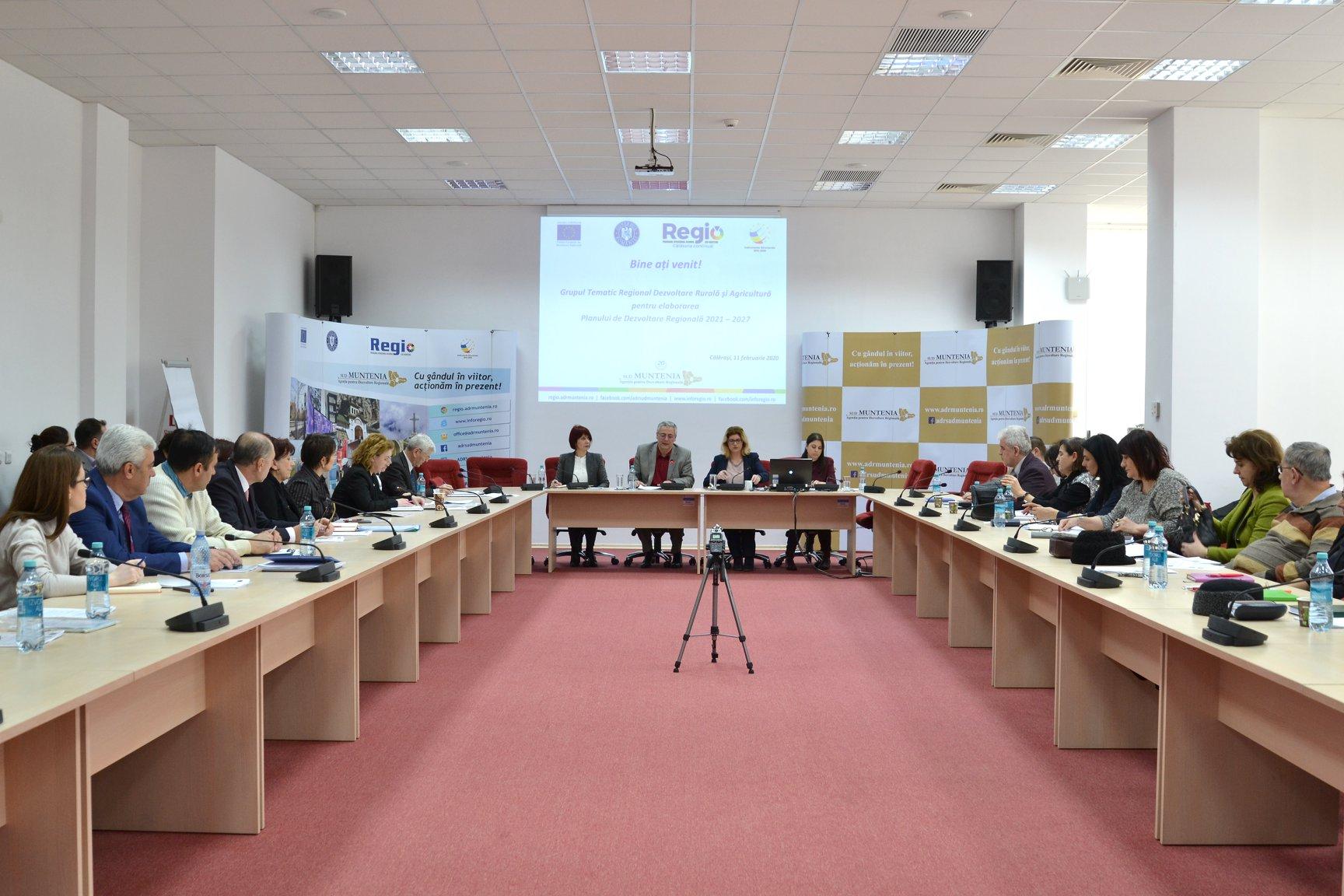 Grup tematic regional pentru dezvoltare rurală și agricultură, la Călărași