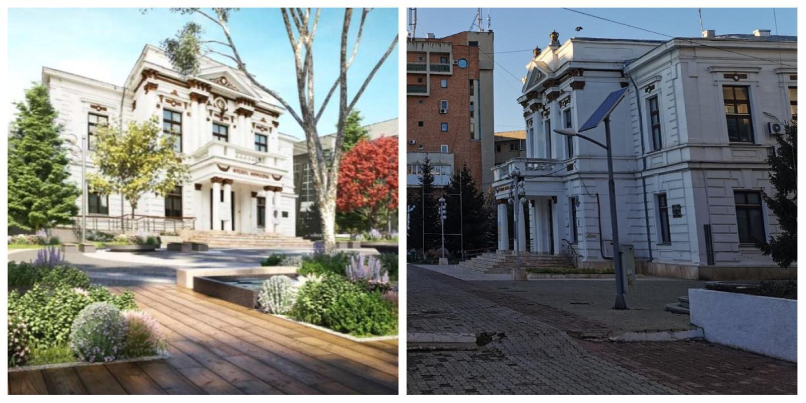 Centrul vechial municipiuluiCălărașise modernizează cu bani europeni