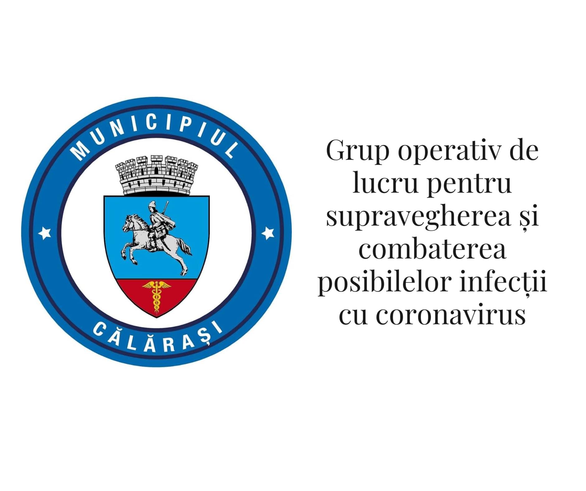 S-a constituit grupul operativ de lucru pentru supravegherea și combaterea  posibilelor infecții cu coronavirus