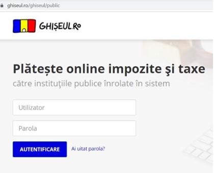 310 contribuabili călărășeni au ales plata on-line a taxelor și impozitelor locale