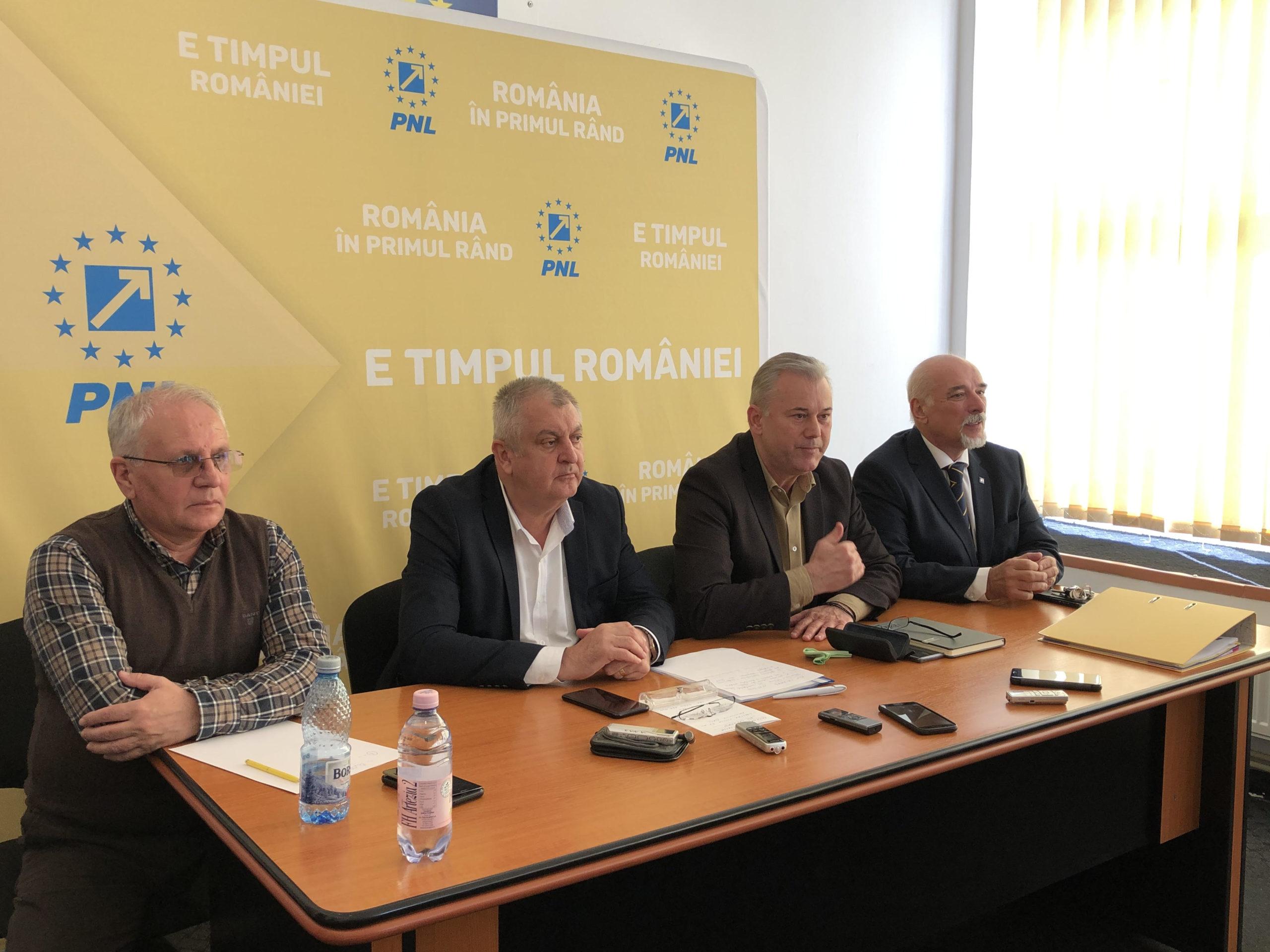 Drăgulin și Barbu, validați de BPN al PNL pentru candidatura la Primăria Călărași, respectiv președinția CJ